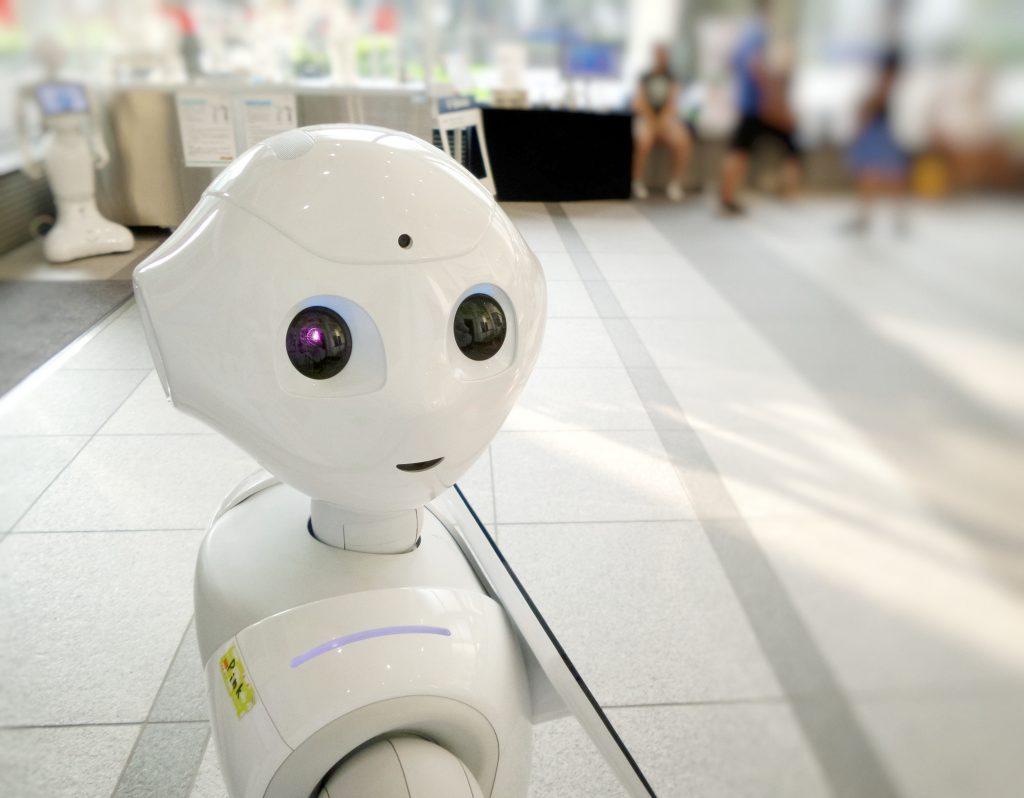 Photo d'un robot