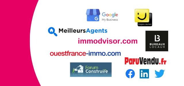 Partenaires diffusion avis clients Immodvisor